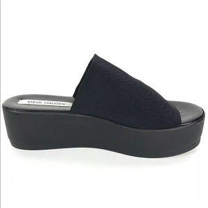 Steve Madden slinky Sandals black platform